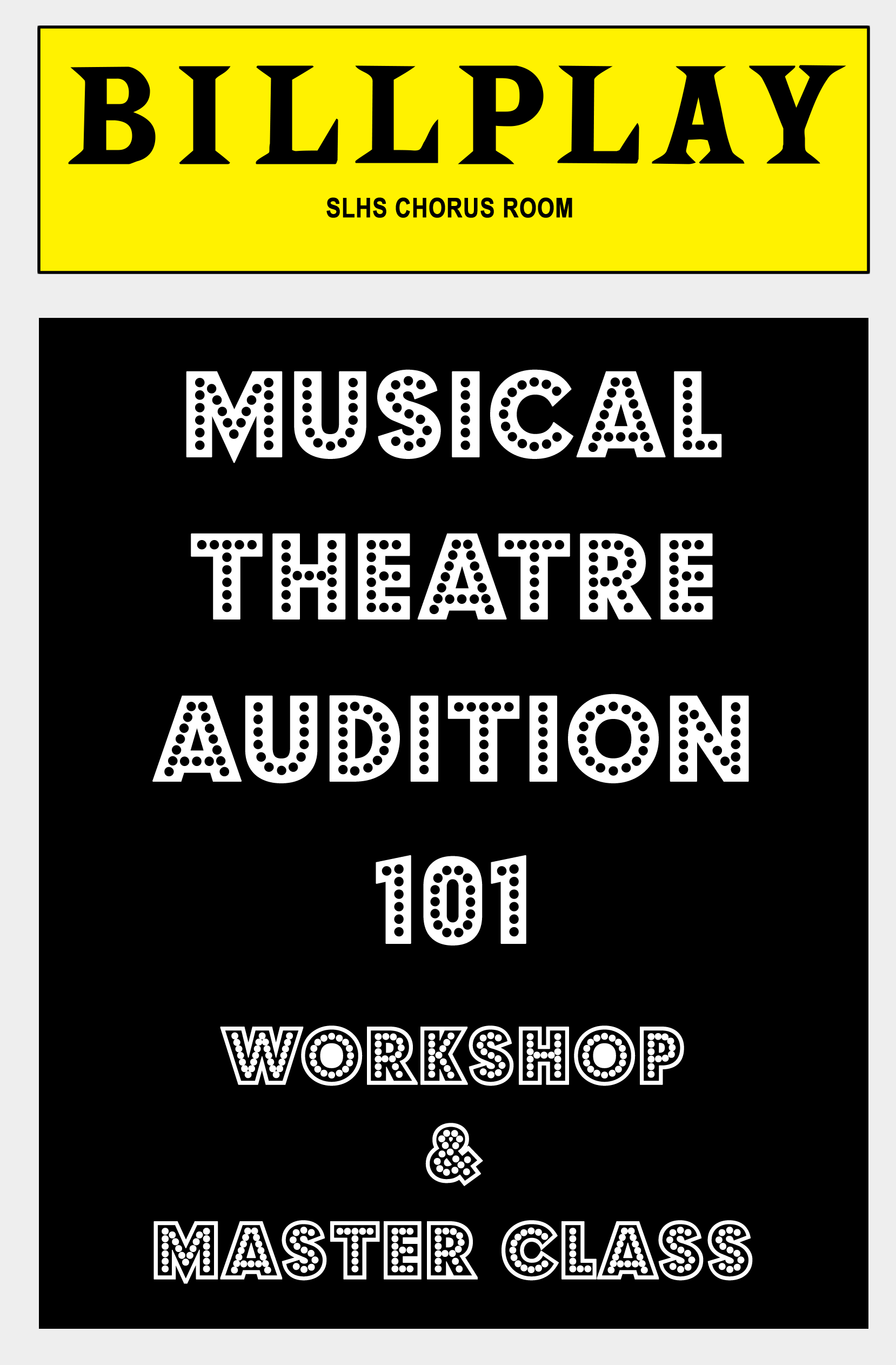 how to prepare for a musical audition