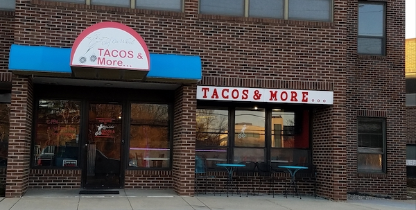Tacos and More Store Front